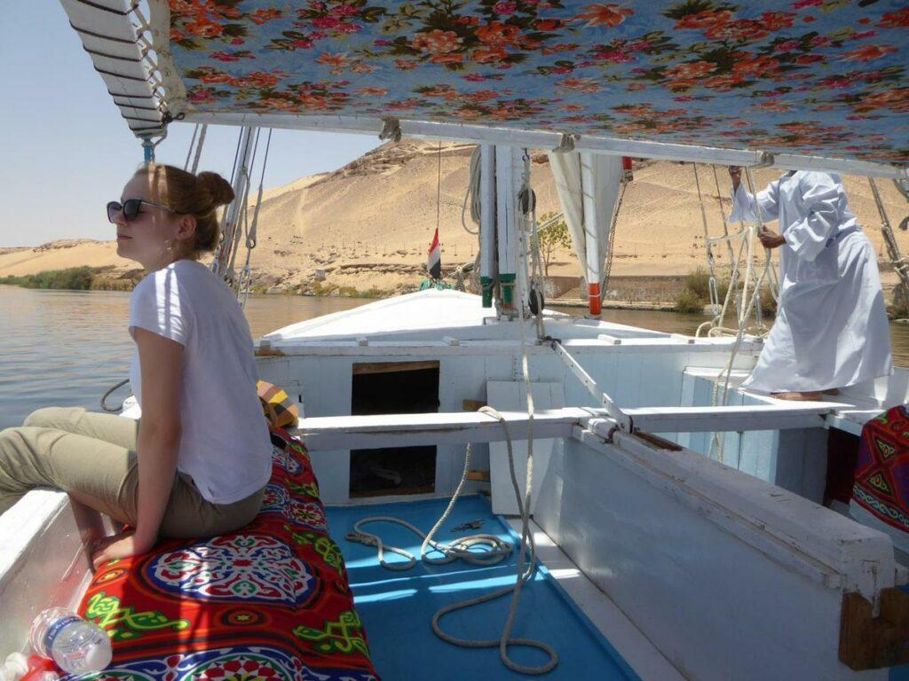 Unsere Reise auf dem Nil mit einer Holzfeluke.