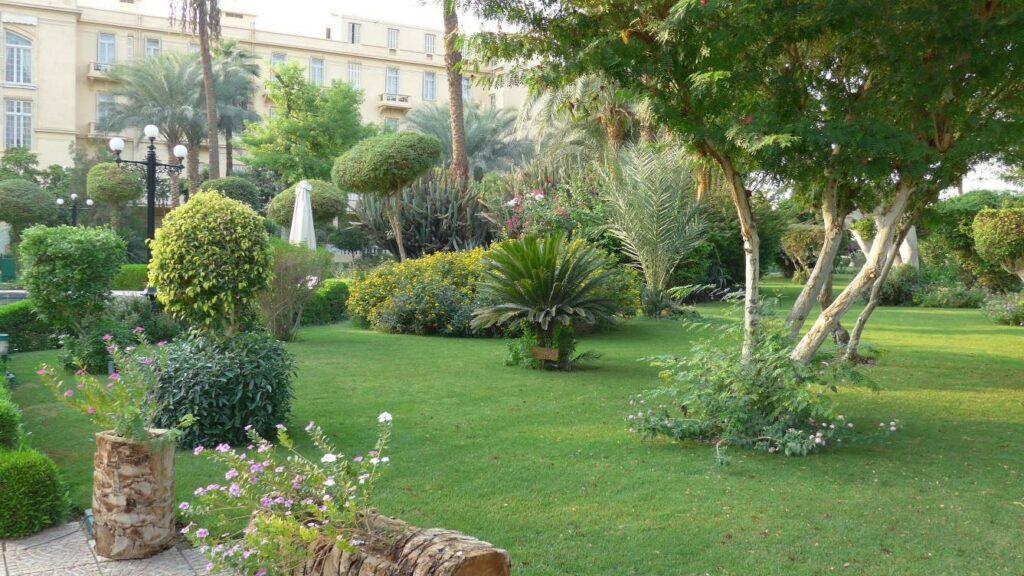 Luxor Hotelgarten